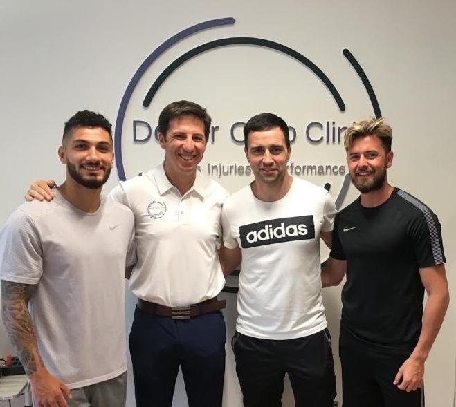Engin Bekdemir y Kamil Çörekçi preparan la próxima temporada de la Superliga Turca de Fútbol en Granada